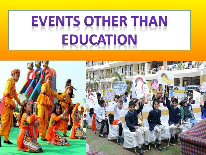 Events Other than Education