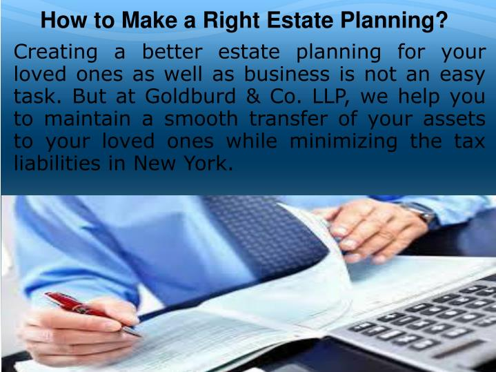 How to Make a Right Estate Planning?