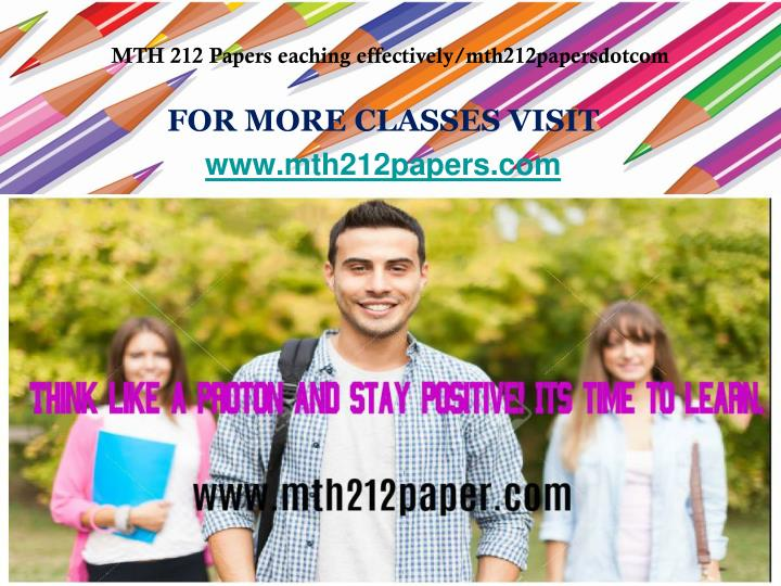 for more classes visit www mth212papers com n.