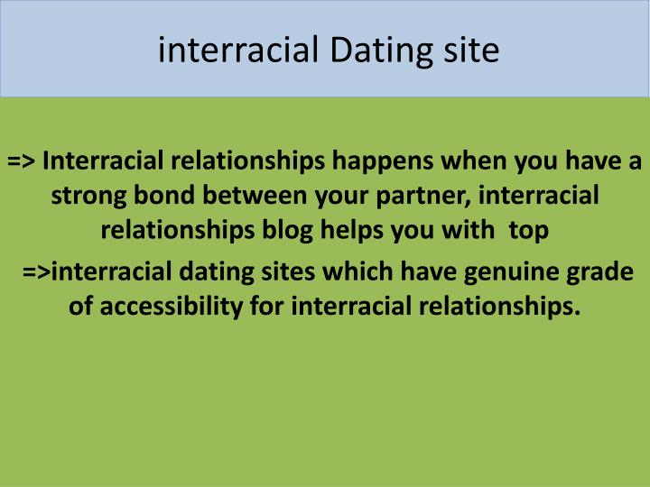 interracial dating site
