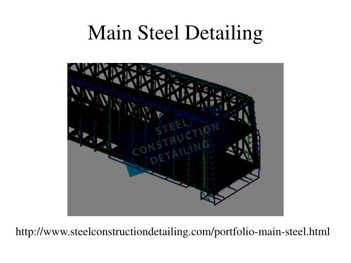 Main Steel Detailing