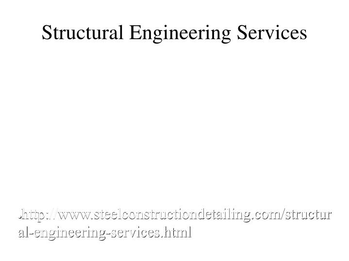Structural Engineering Services