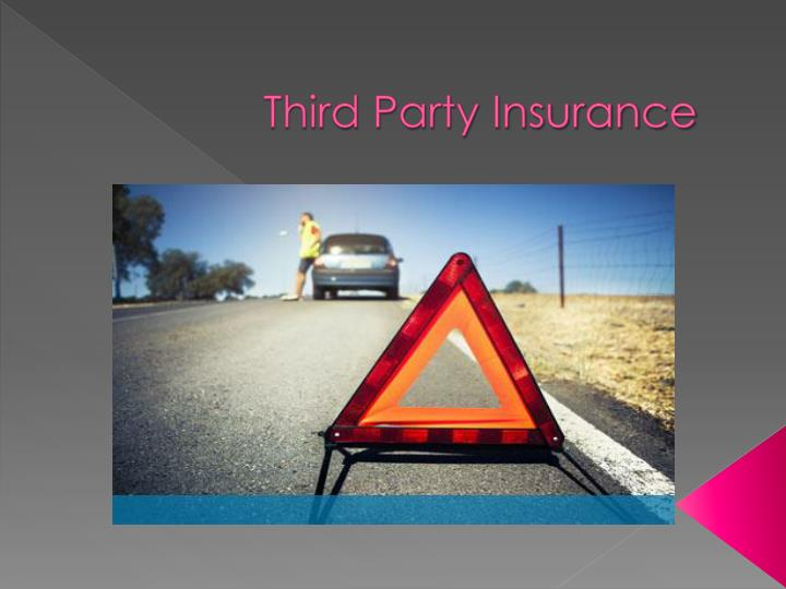 third party insurance n.