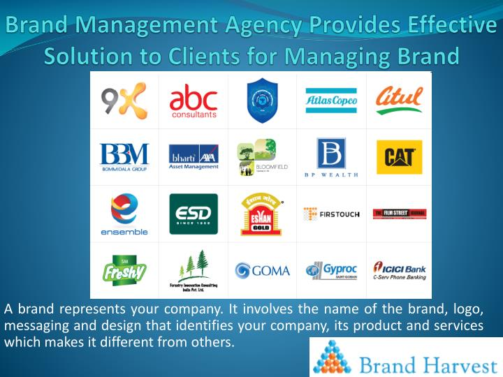 brand management agency provides effective solution to clients for managing brand n.