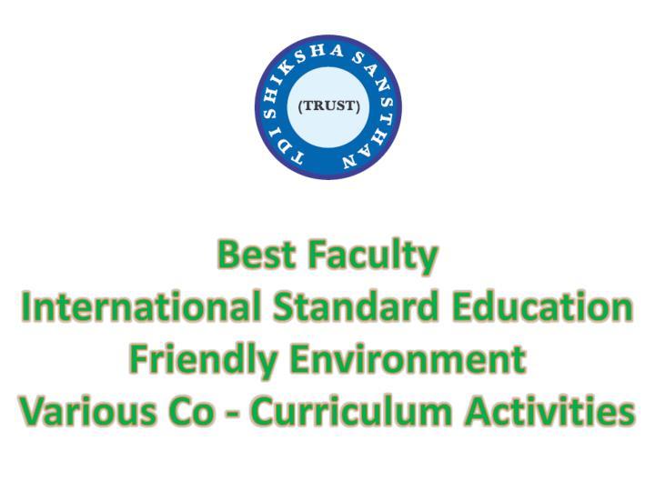 Best Faculty