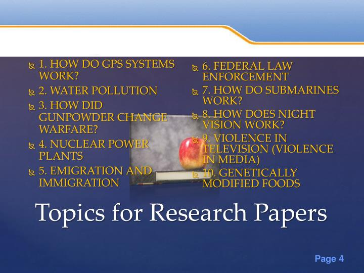 Ppt 50 Research Paper Topics Powerpoint Presentation Id7279425