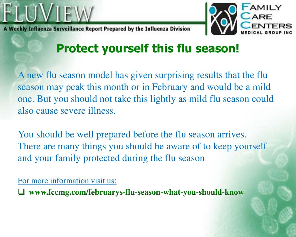 PPT - February's #FluSeason PowerPoint Presentation - ID:7280046