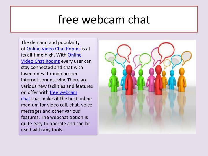 Free webcam chats