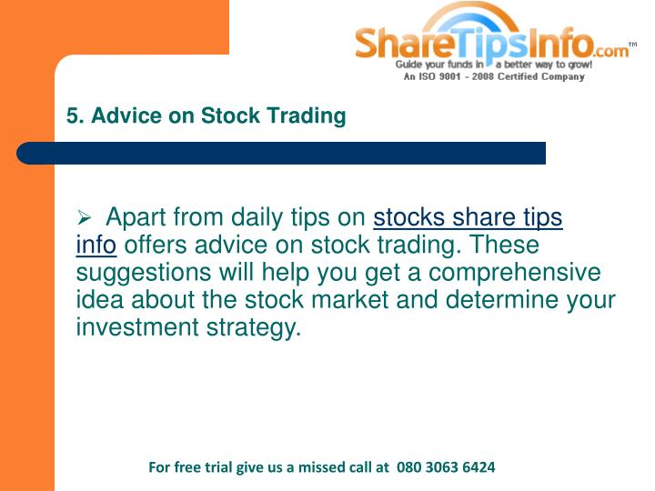 PPT - 15 reasons why to get stock market and commodity tips from Sharetipsinfo PowerPoint ...