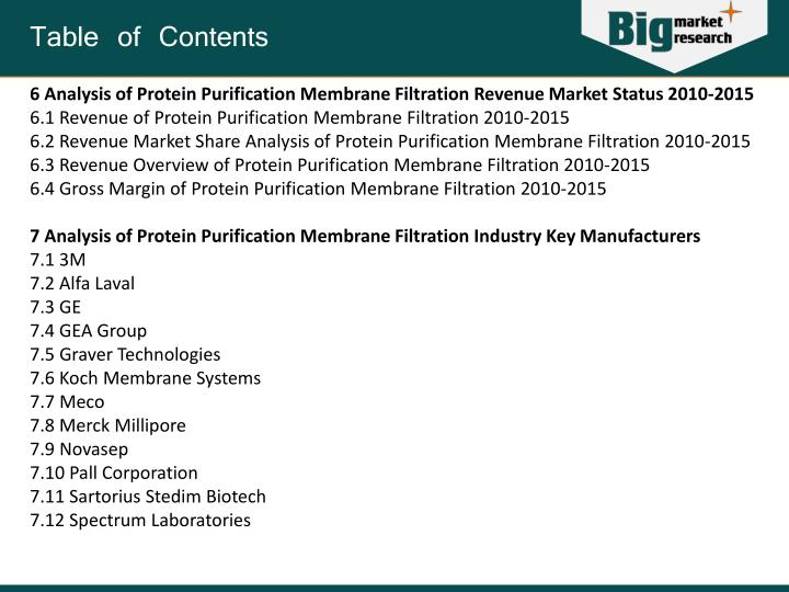 protein purification lab report