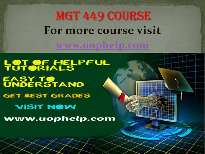 for more course visit www uophelp com n.