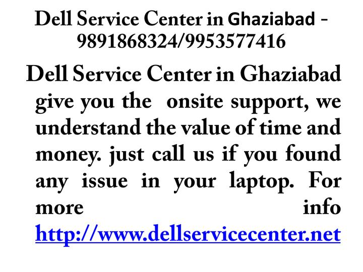 dell service center in ghaziabad 9891868324 9953577416 n.