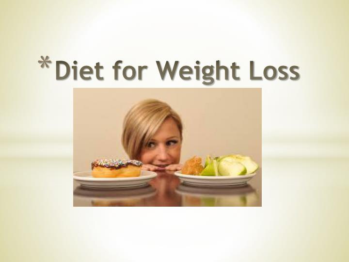 diet for weight loss n.