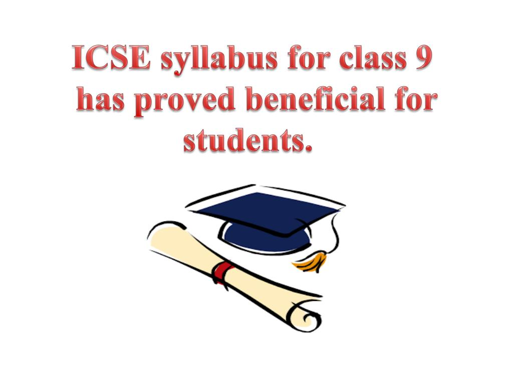 PPT - ICSE syllabus for class 9 at Genextstudents com