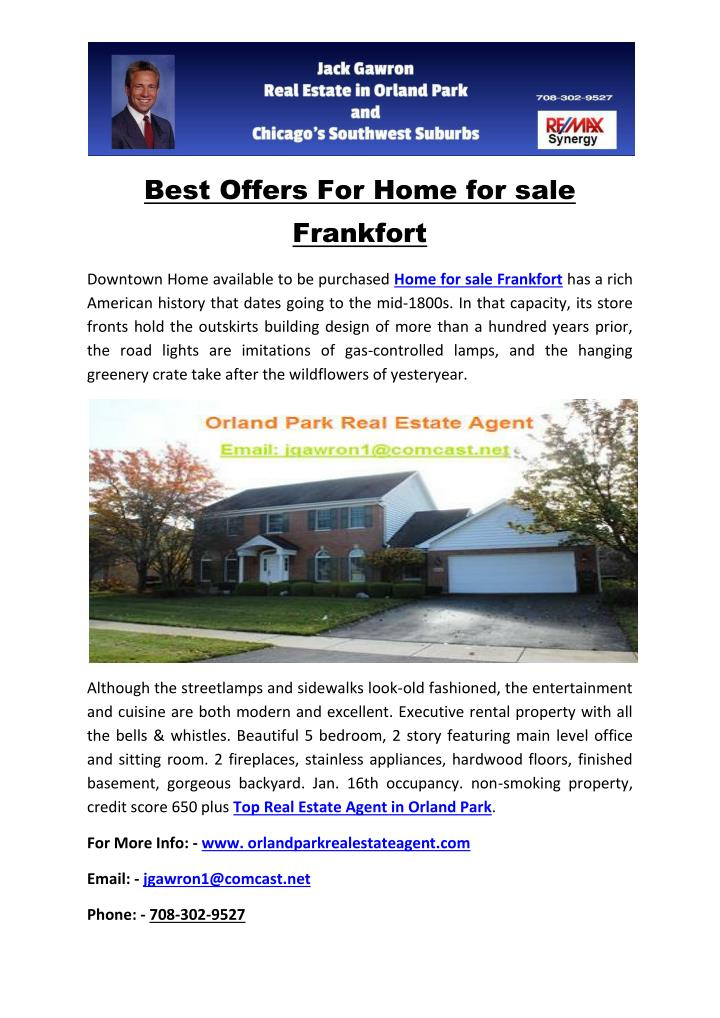 Best Offers For Home for sale
