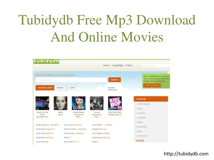 PPT - Tubidy Mobile Mp3 Music Downloads PowerPoint