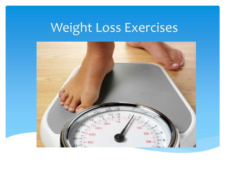 weight loss exercises n.