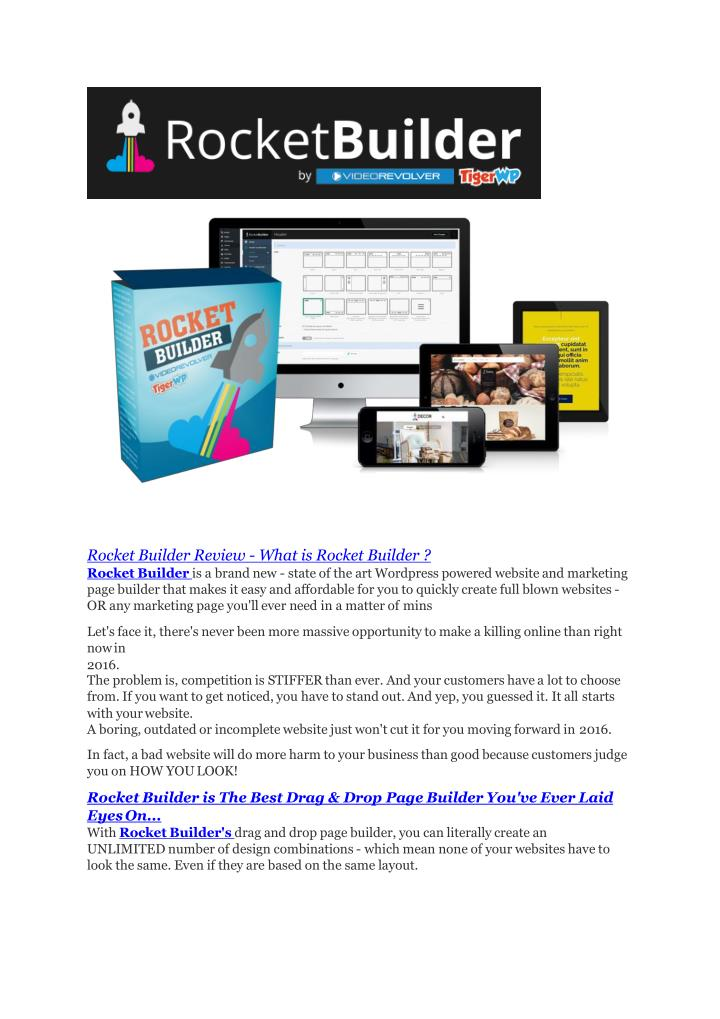 Rocket Builder Review - What is Rocket Builder