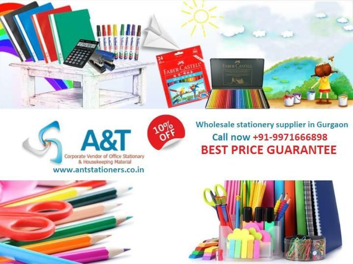 Buy wholesale stationery items at 10 discount in gurgaon