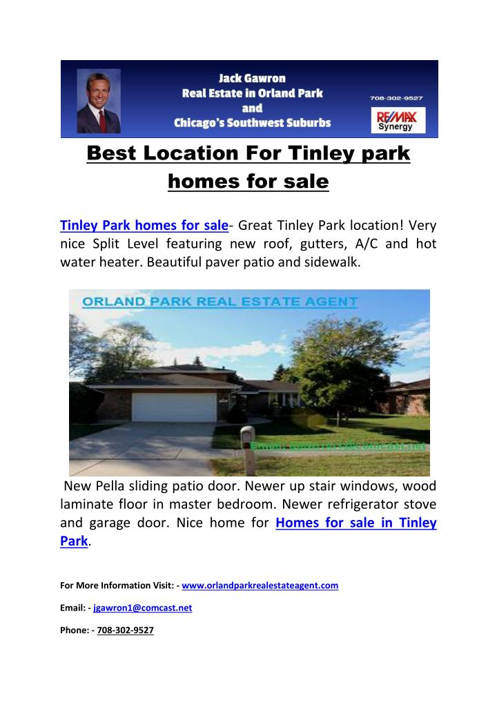 Best Location For Tinley park