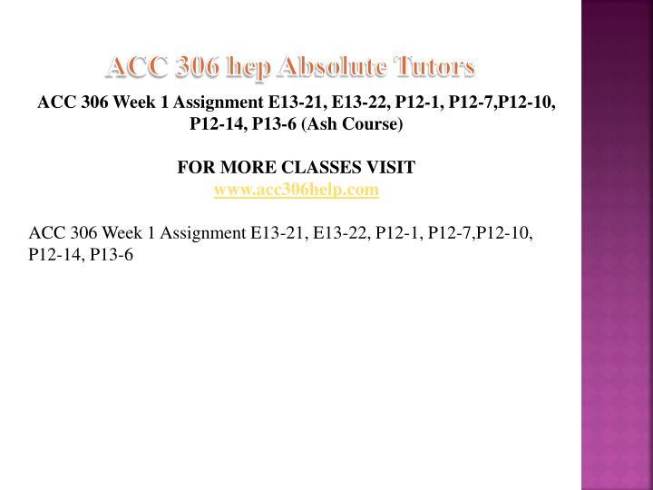 Acc 306 hep absolute tutors1
