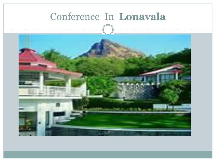 Conference in lonavala