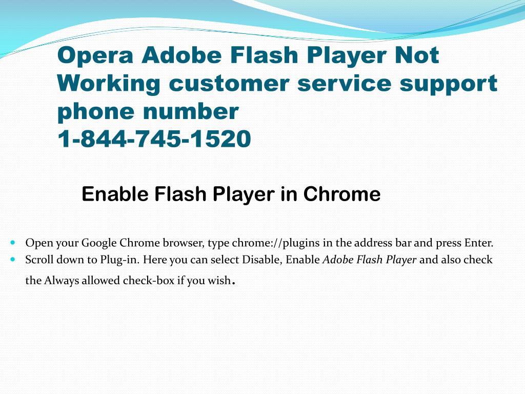 PPT - Flash Player Technical Support PowerPoint Presentation - ID