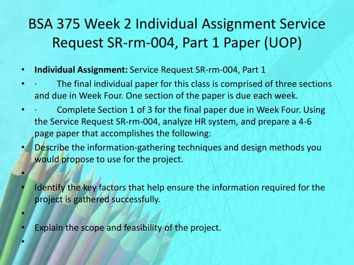 section 2 service request sr rm 022 paper