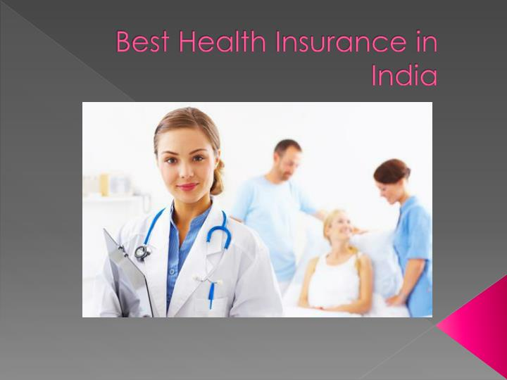 best health insurance in india n.