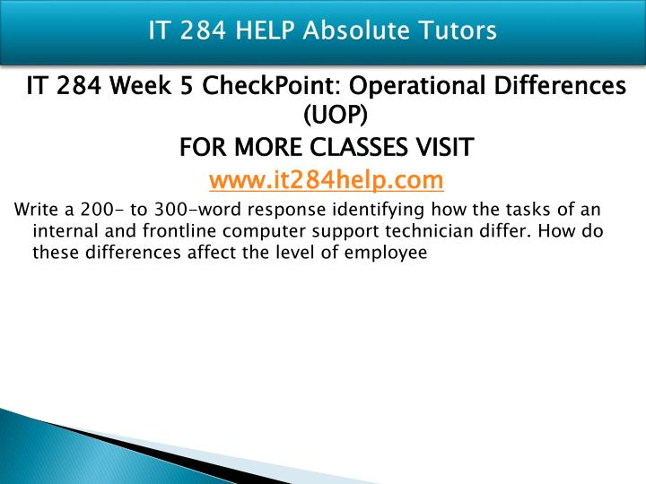 checkpoint week 1 it284 It284 r3 course design guide 052812  week 1 checkpoint week 1 checkpoint 2 week 2 concept check  documents similar to week3 assignment comunication issue 11.