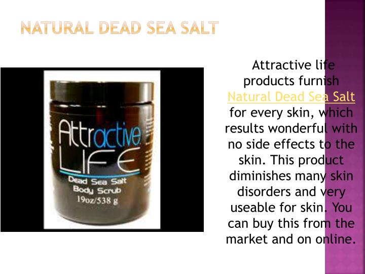 Natural Dead Sea Salt