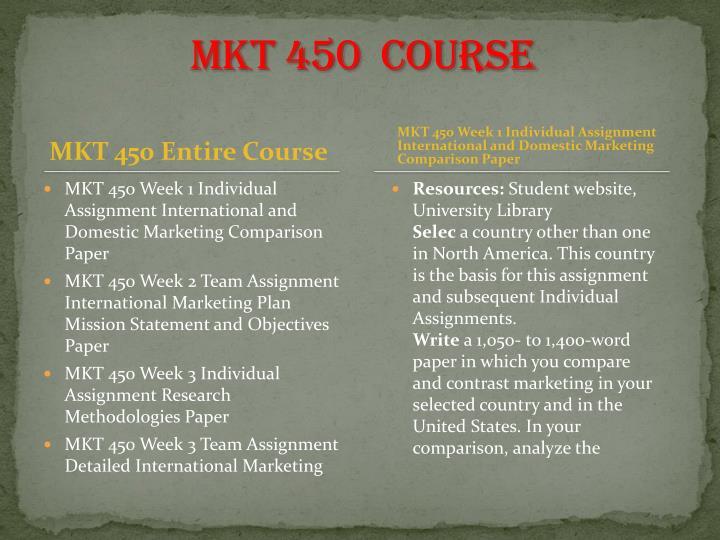 mkt 450 research methodologies paper