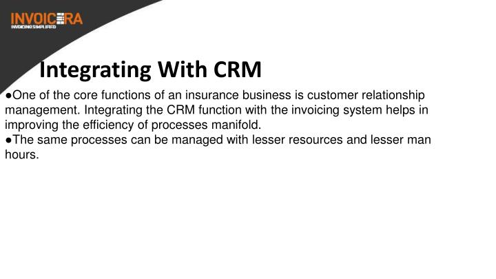 Integrating With CRM
