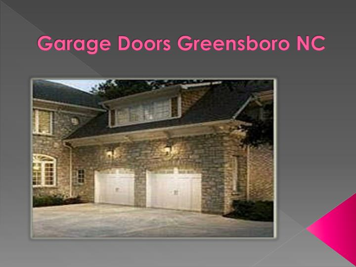 ppt garage door services and repair powerpoint