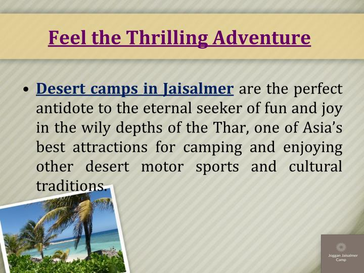 Feel the thrilling adventure1