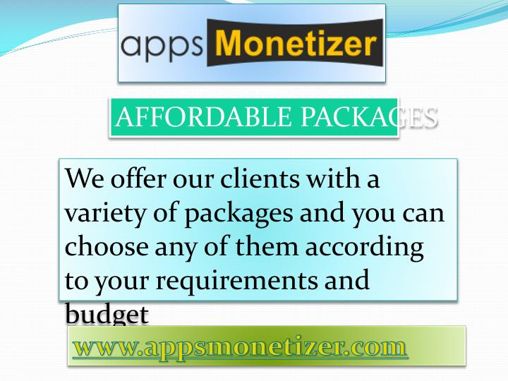 AFFORDABLE PACKAGES