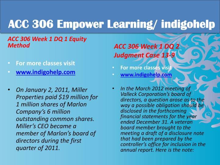 Acc 306 educational tutor indigohelp1