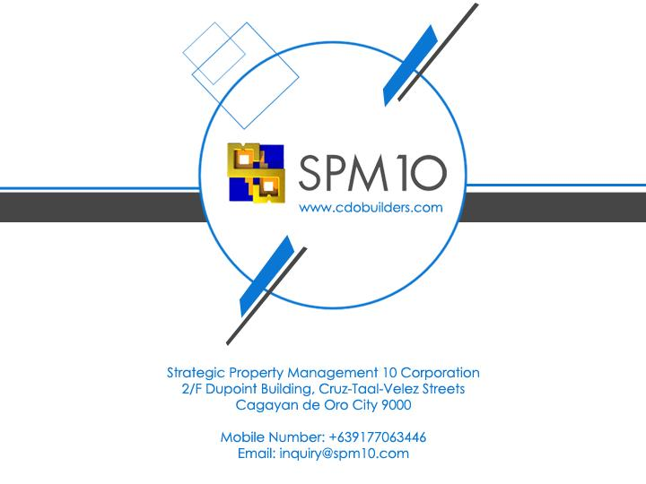 Strategic Property Management 10 Corporation