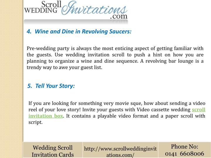 4.  Wine and Dine in Revolving Saucers: