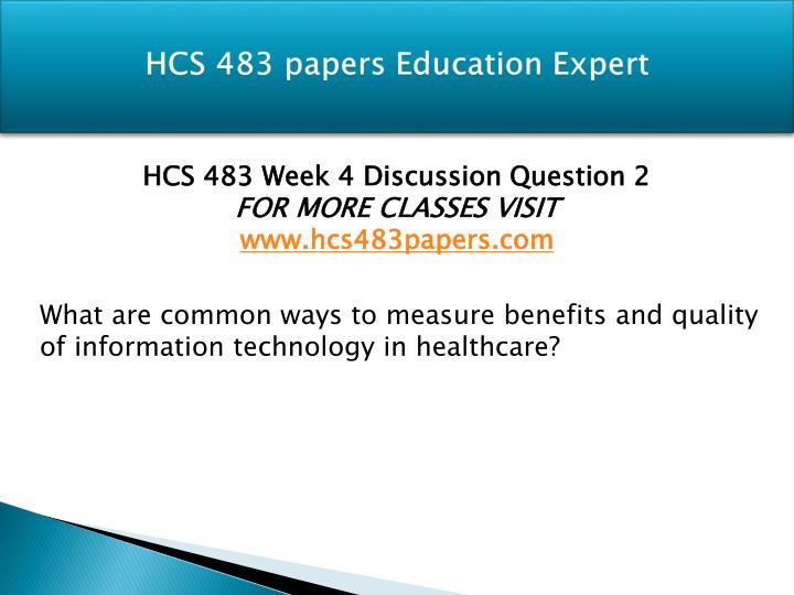 hcs 483 wk1dq1 2
