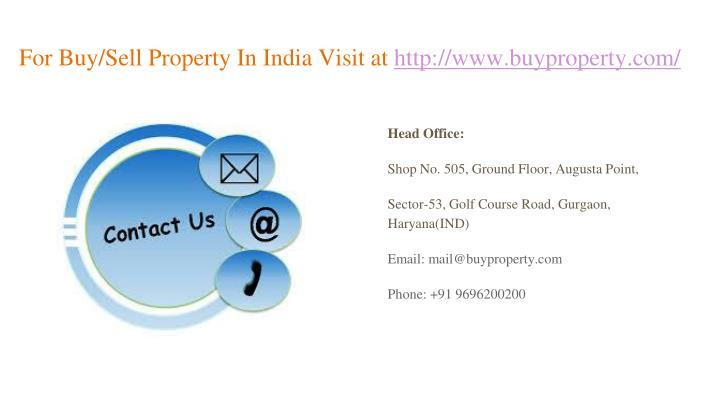 For Buy/Sell Property In India Visit at