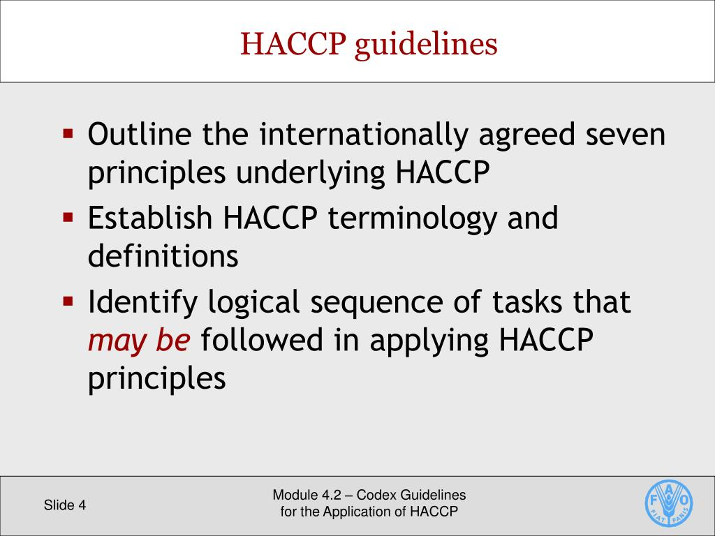 PPT - Codex HACCP PowerPoint Presentation - ID:7286609