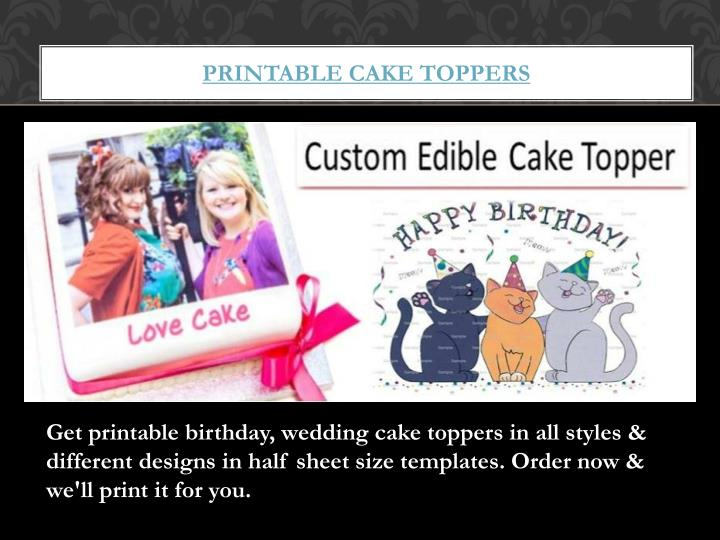 p rintable cake toppers n.