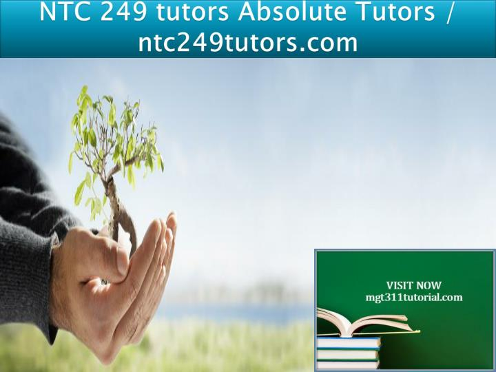 ntc 249 tutors absolute tutors ntc249tutors com