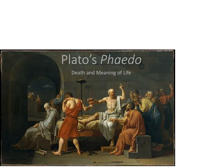 phaedo summary Introduction after an interval of some months or years, and at phlius, a town of peloponnesus, the tale of the last hours of socrates is narrated to echecrates and other phliasians by phaedo the 'beloved disciple'.