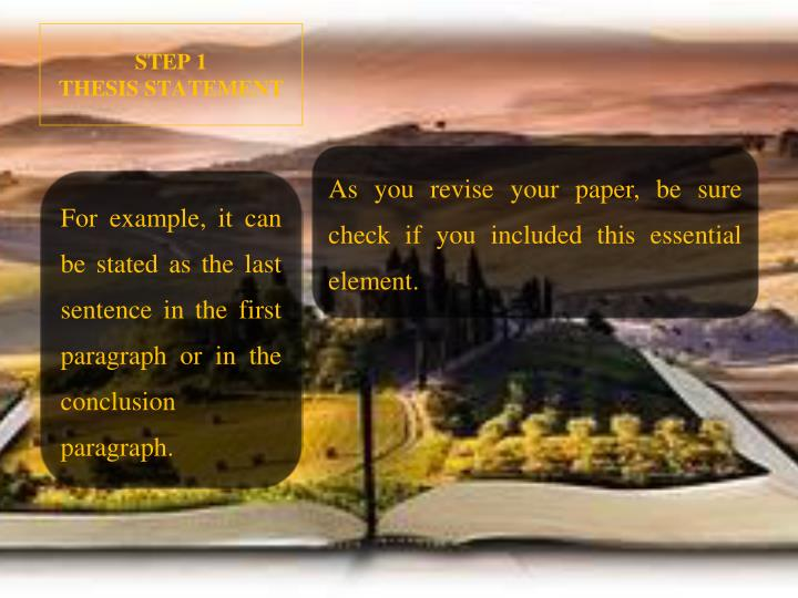 essential elements of a descriptive essay Understanding the elements of a personal narrative can teach you to fuse what are the writing elements for a how to write a descriptive narrative essay.