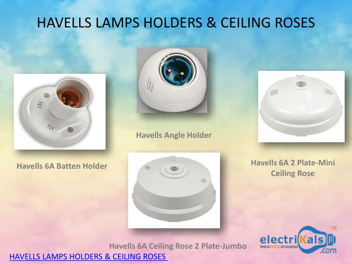ppt buy lamp holders and ceiling roses online electrikals com