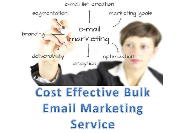 Cost Effective Bulk Email Marketing Service