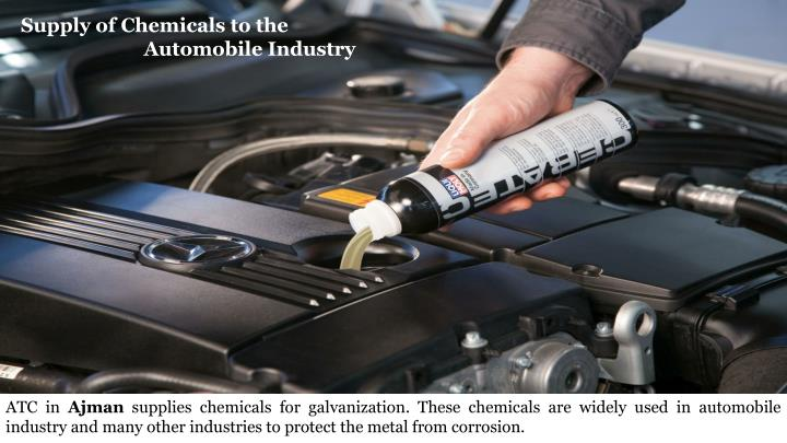 Supply of Chemicals to