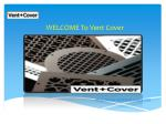 welcome to vent cover